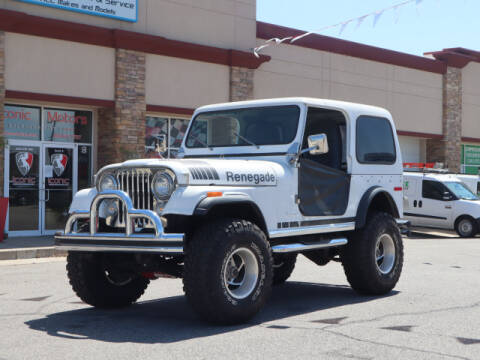 1979 Jeep Renegade for sale at Iconic Motors of Oklahoma City, LLC in Oklahoma City OK