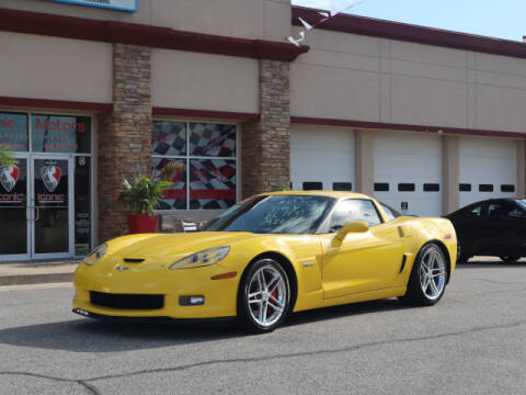 2007 Chevrolet Corvette for sale at Iconic Motors of Oklahoma City, LLC in Oklahoma City OK