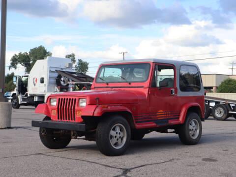 1989 Jeep Wrangler for sale at Iconic Motors of Oklahoma City, LLC in Oklahoma City OK