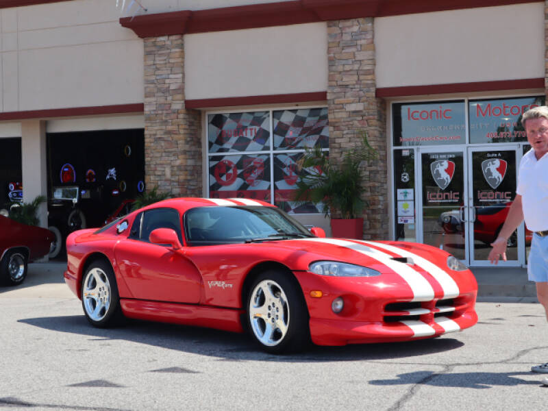 2002 Dodge Viper for sale at Iconic Motors of Oklahoma City, LLC in Oklahoma City OK