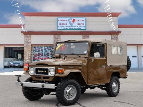 1980 Toyota Land Cruiser for sale at Iconic Motors of Oklahoma City, LLC in Oklahoma City OK
