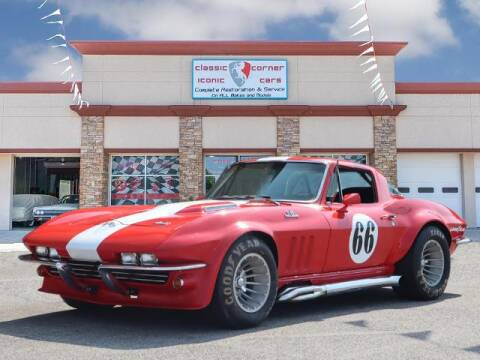 1966 Chevrolet Corvette for sale at Iconic Motors of Oklahoma City, LLC in Oklahoma City OK