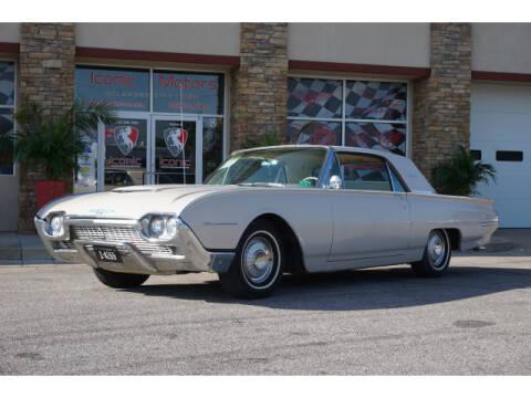 1961 Ford Thunderbird for sale at Iconic Motors of Oklahoma City, LLC in Oklahoma City OK
