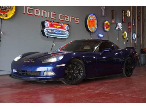 2006 Chevrolet Corvette for sale at Iconic Motors of Oklahoma City, LLC in Oklahoma City OK