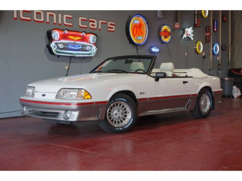 1988 Ford Mustang for sale at Iconic Motors of Oklahoma City, LLC in Oklahoma City OK