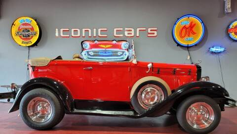 1931 Ford Model A GLASSIC for sale at Iconic Motors of Oklahoma City, LLC in Oklahoma City OK