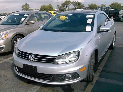 2013 Volkswagen Eos for sale in Lewisville, TX