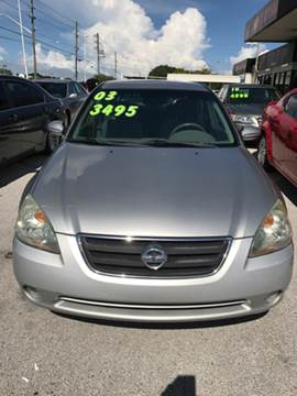 2003 Nissan Altima for sale in Tarpon Springs, FL