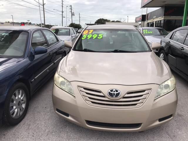 2007 Toyota Camry For Sale At Karzoun Motors Express In Tarpon Springs FL