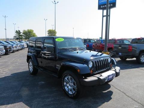 2013 Jeep Wrangler Unlimited for sale in Lexington, IL