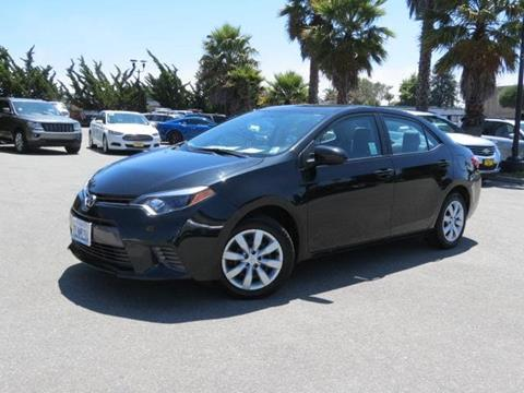 2015 Toyota Corolla for sale in Capitola CA