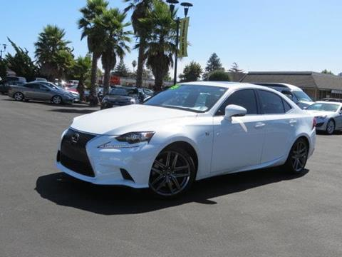 2015 Lexus IS 350 for sale in Capitola CA