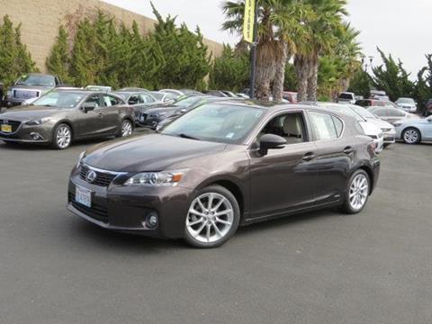 2013 Lexus CT 200h for sale in Capitola CA