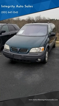 1999 Pontiac Montana for sale in Clarksville, TN