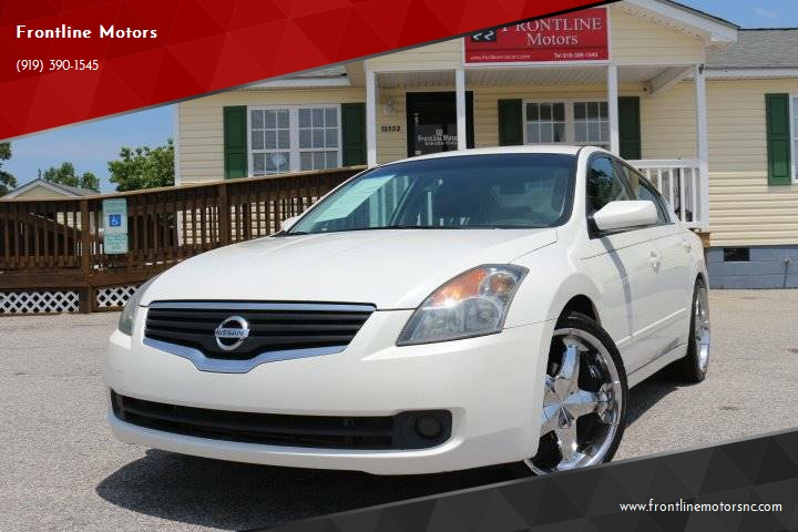 2007 Nissan Altima 25 S In Clayton Nc Frontline Motors
