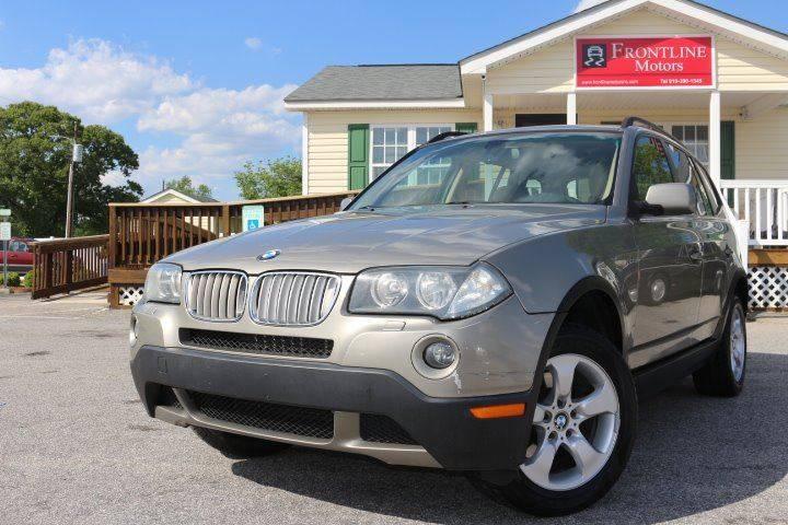 2007 BMW X3 3.0si In Clayton NC - Frontline Motors
