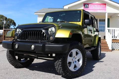 2007 Jeep Wrangler Unlimited for sale in Clayton, NC