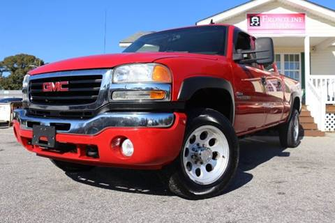 2006 GMC Sierra 2500HD for sale in Clayton, NC