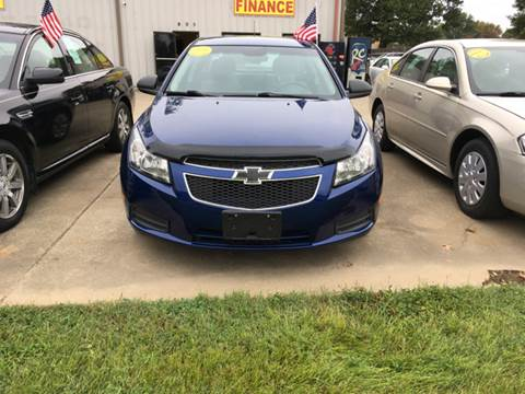 2012 Chevrolet Cruze for sale in Mayfield, KY