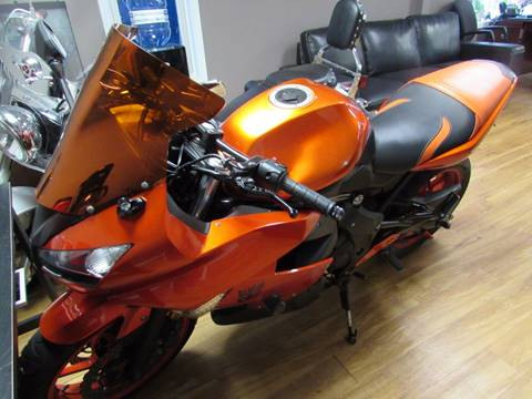 2011 Kawasaki Ninja 650R for sale at Auto Select in Lexington KY