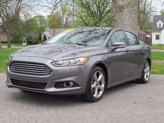 2013 Ford Fusion for sale at Auto Select in Lexington KY