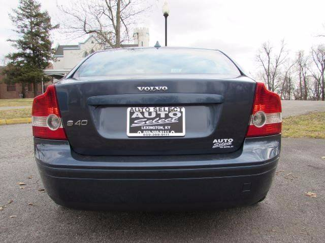 2007 Volvo S40 for sale at Auto Select in Lexington KY