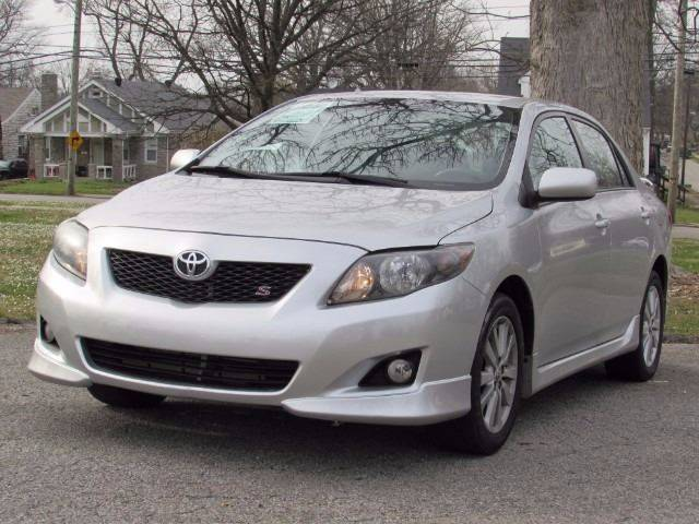 2010 Toyota Corolla for sale at Auto Select in Lexington KY