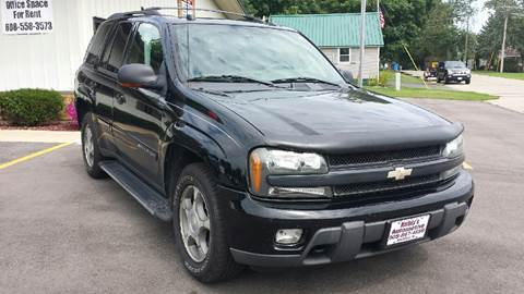 2004 Chevrolet TrailBlazer for sale at Kubly's Automotive in Brodhead WI