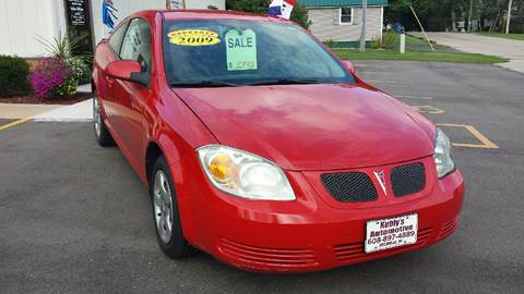 2009 Pontiac G5 for sale at Kubly's Automotive in Brodhead WI