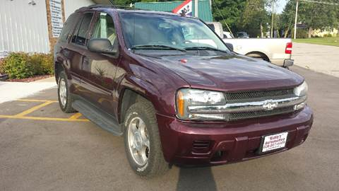 2006 Chevrolet TrailBlazer for sale at Kubly's Automotive in Brodhead WI