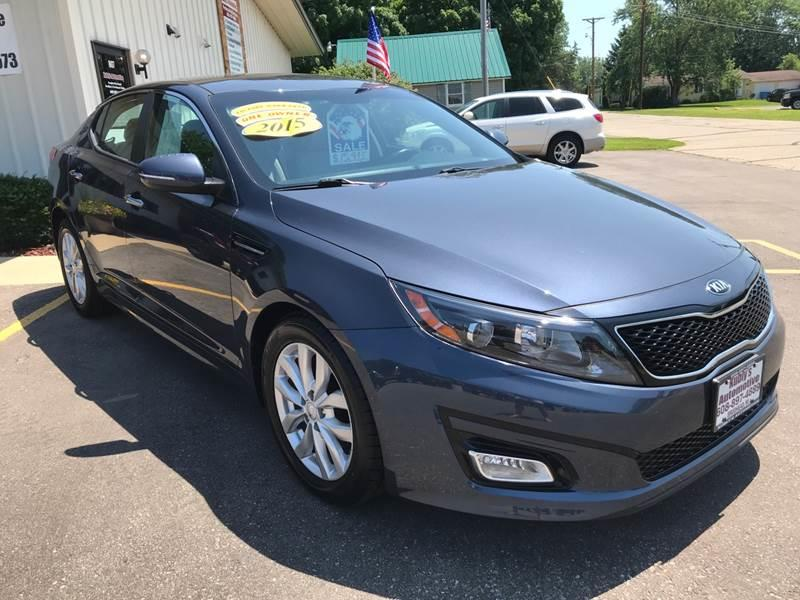 2015 Kia Optima for sale at Kubly's Automotive in Brodhead WI