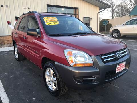 2007 Kia Sportage for sale at Kubly's Automotive in Brodhead WI