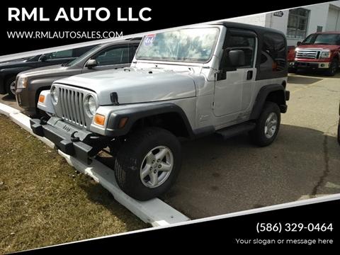 2004 Jeep Wrangler for sale in Clinton Township, MI