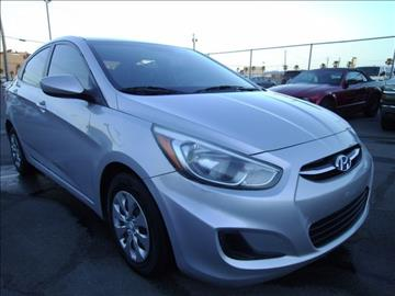2015 Hyundai Accent for sale in Las Vegas, NV