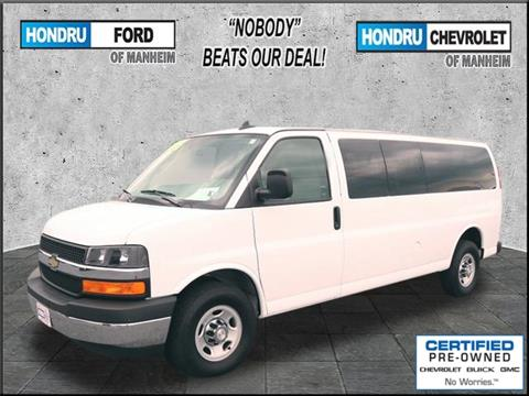 2017 Chevrolet Express Passenger for sale in Manheim, PA