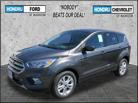 2017 Ford Escape for sale in Manheim, PA