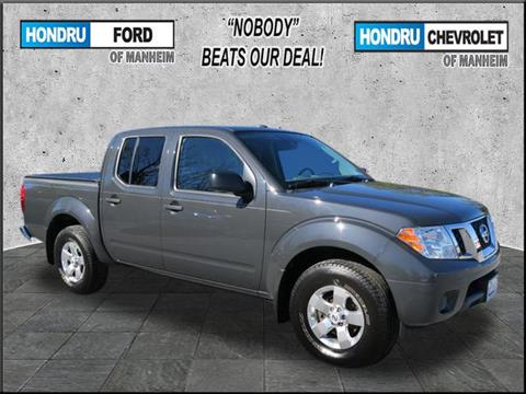 2012 Nissan Frontier for sale in Manheim, PA