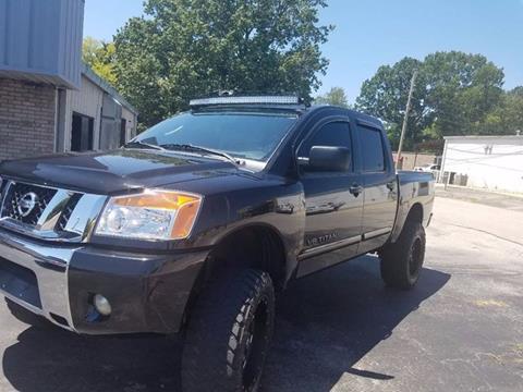 2011 Nissan Titan for sale in Muscle Shoals, AL