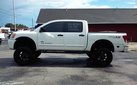 2010 Nissan Titan for sale in Muscle Shoals, AL