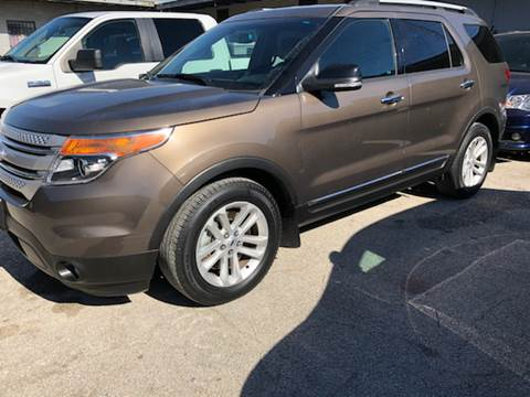 2015 Ford Explorer for sale at FAST LANE AUTO SALES in San Antonio TX