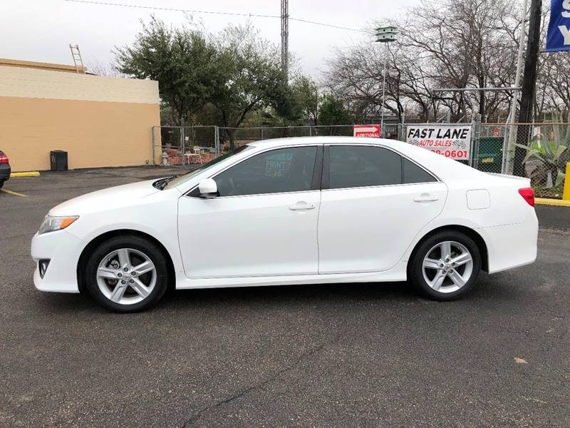 2013 Toyota Camry for sale at FAST LANE AUTO SALES in San Antonio TX