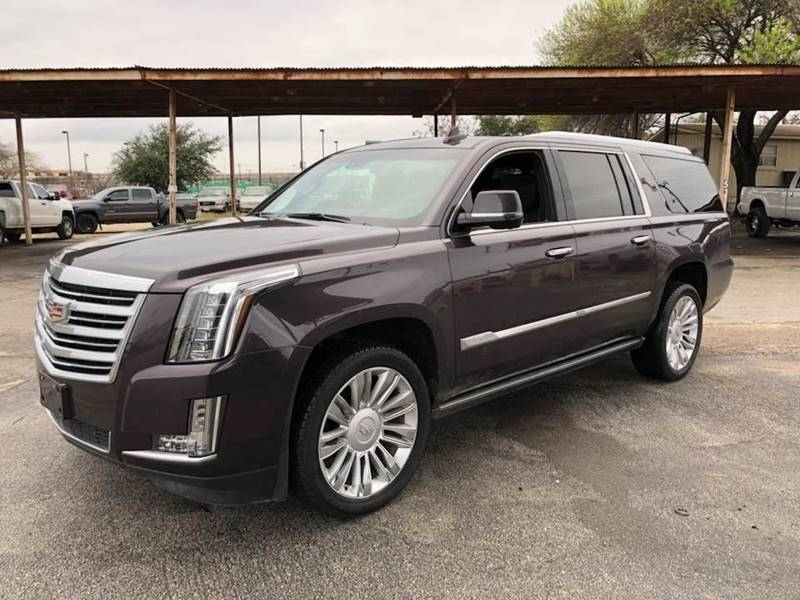 2015 cadillac escalade esv platinum in san antonio tx. Black Bedroom Furniture Sets. Home Design Ideas