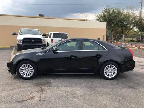 2012 Cadillac CTS for sale at FAST LANE AUTO SALES in San Antonio TX
