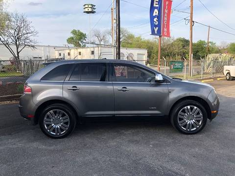 2009 Lincoln MKX for sale at FAST LANE AUTO SALES in San Antonio TX