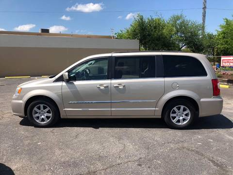 2012 Chrysler Town and Country for sale at FAST LANE AUTO SALES in San Antonio TX