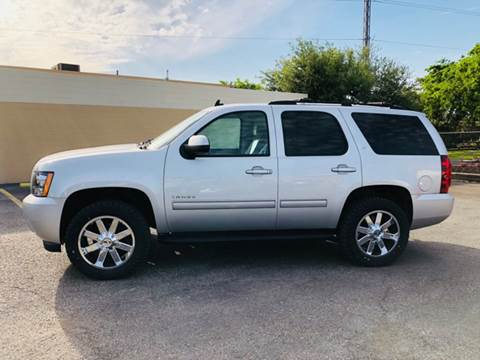 2013 Chevrolet Tahoe for sale at FAST LANE AUTO SALES in San Antonio TX
