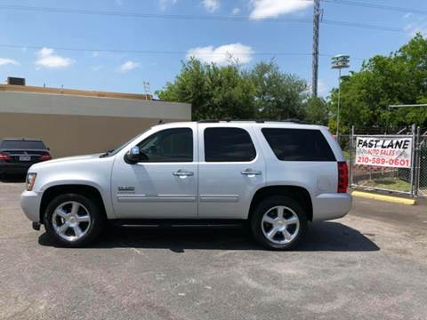 2010 Chevrolet Tahoe for sale at FAST LANE AUTO SALES in San Antonio TX