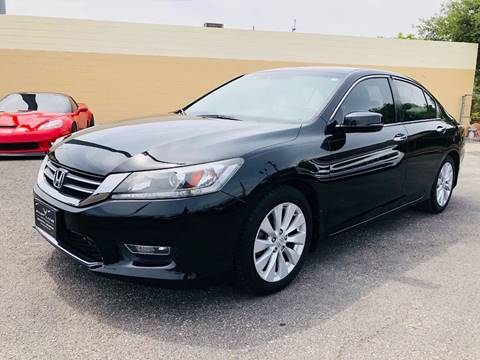 2013 Honda Accord for sale at FAST LANE AUTO SALES in San Antonio TX