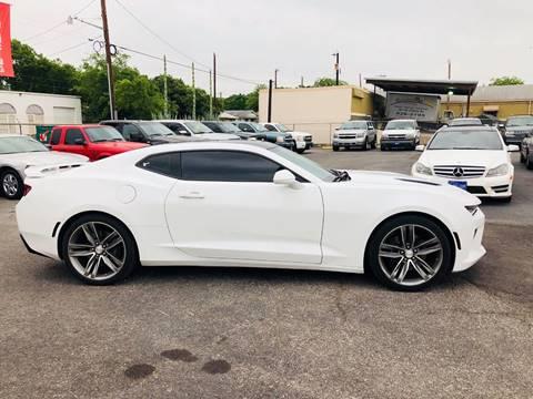 2016 Chevrolet Camaro for sale at FAST LANE AUTO SALES in San Antonio TX
