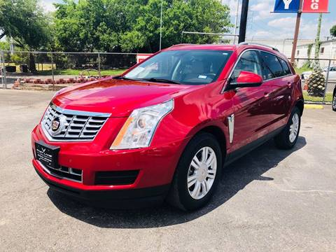 2016 Cadillac SRX for sale at FAST LANE AUTO SALES in San Antonio TX
